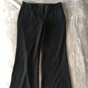 EXPRESS 6R Black Stretch Dress Pant Work